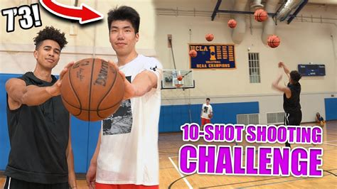 basketball challenge   ranked  foot   year
