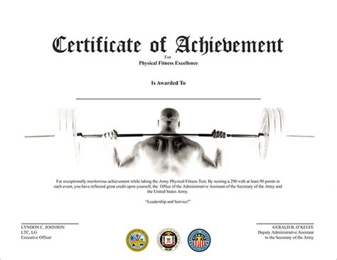 fabulous achievement certificate templates word psd