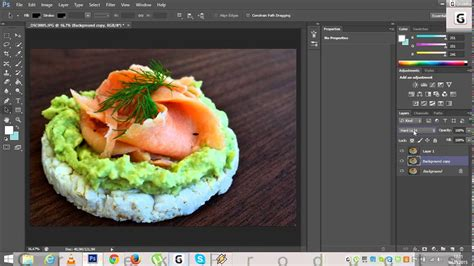 food photography tutorial easy editing  photoshop