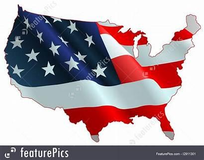 Flag Map American Flags Featurepics Illustrations Illustration