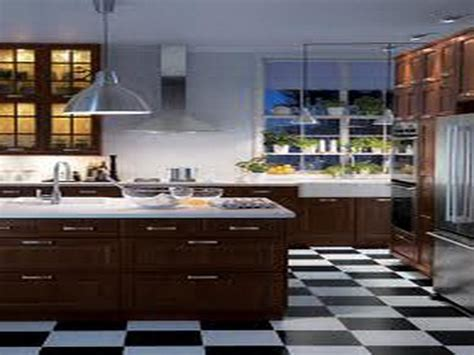 black and white kitchen floors black and white tile kitchen floor wood floors 7855