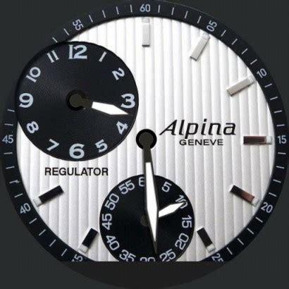 Alpina Regulator by Alpina Regulator Watchfaces For Smart Watches