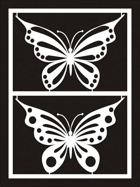 butterfly cutouts   clip art  clip