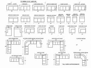 Sofa dimensions dimensions of couch cool standard size for Standard sectional sofa sizes
