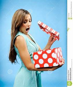 Receive A Present Royalty Free Stock Image - Image: 21793726