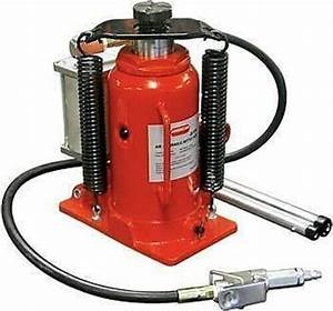 Air Hydraulic Bottle Jack 20 Ton Manual 40 000lb Heavy