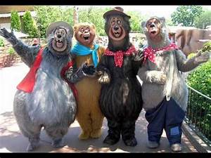 Disneyland Music - The Country Bears - The Great Outdoors ...