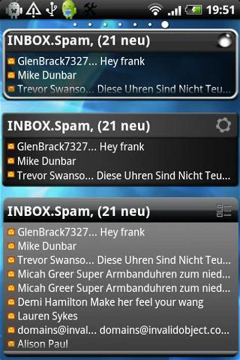 email widgets for android email widget android apps on play