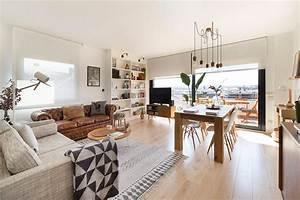 deco chaleureuse dans un appartement moderne blueberry home With decoration petit appartement moderne