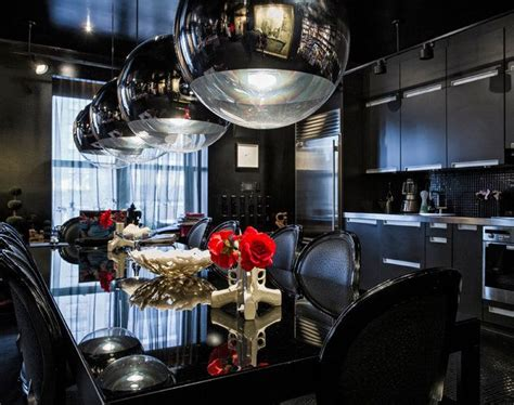20 Refined Gothic Kitchen And Dining Room Designs - DigsDigs