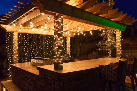 String Lights Above Deck