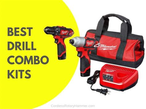 cordless drill combo kits buying guide
