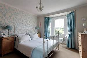 English country style in blue Interior Design Ideas