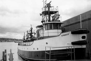 Fireboat Names by Duwamish Fireboat