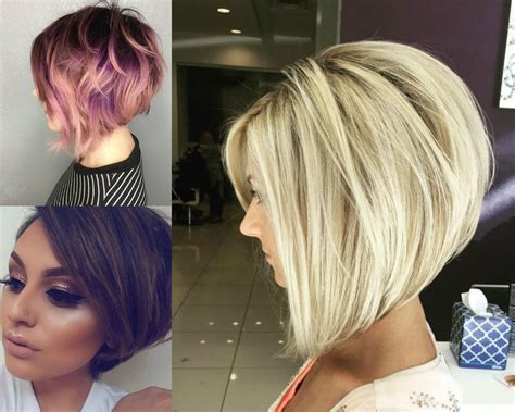Business Style Stacked Bob Hairstyles 2017