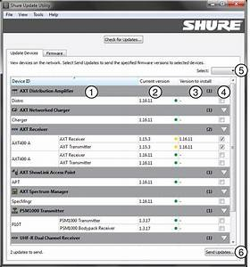 Shure Update Utility User Guide