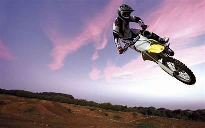 Bike Motocross Sky Wallpapers Bikes Wide