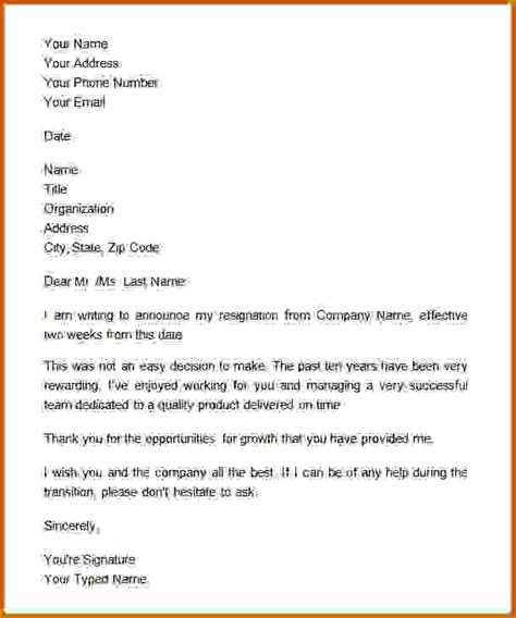 written two weeks notice 6 how to write a two weeks notice lease template