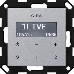 Gira Unterputz Radio Rds : gira 228426 unterputz radio rds farbe alu online kaufen im ~ A.2002-acura-tl-radio.info Haus und Dekorationen