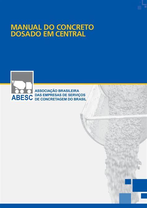 manual concreto