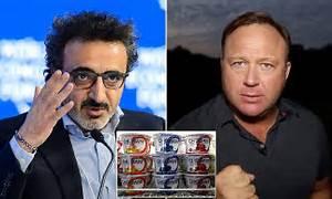Right-wing radio host Alex Jones settles suit with Chobani ...
