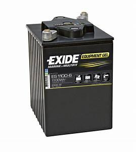 Batterie Exide Gel : exide es1100 6 gel ~ Medecine-chirurgie-esthetiques.com Avis de Voitures