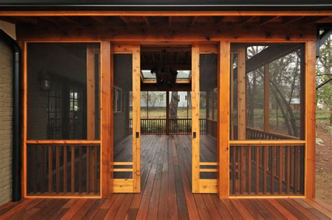 screened in porch doors craftsman screen porch craftsman atlanta by