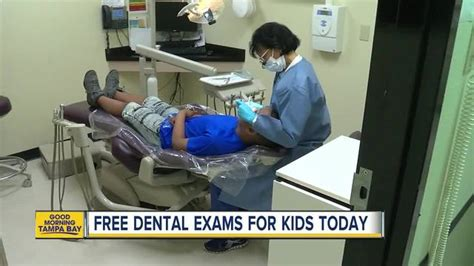 dental exams offered  pinellas county kids
