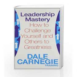 leadership mastery  training dale carnegie buy