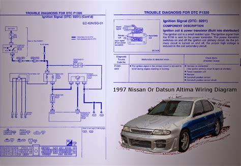 Nissan Datsun Altima Wiring Diagram Auto