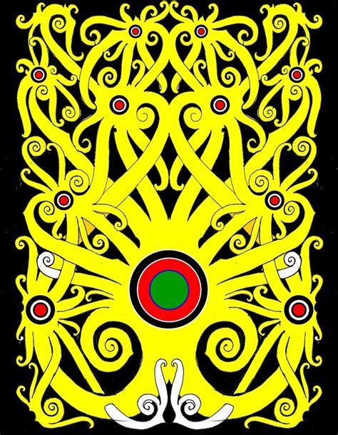 mengenal berbagai macam motif seni lukis suku dayak kaskus