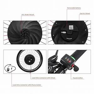 Imortor 26 Inches Permanent Magnet Dc Motor Bicycle Wheel