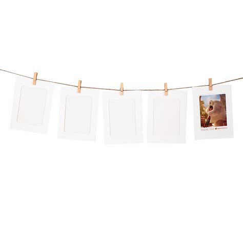 10pc Diy Paper Photo Wall Art Picture Polaroid Hanging