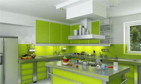 lime green kitchen accesories 23 green kitchen cabinets ideas for your kitchen interior 7086