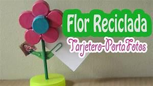 Flor de taparroscas: deco tarjetero y porta fotos (como se hace) YouTube
