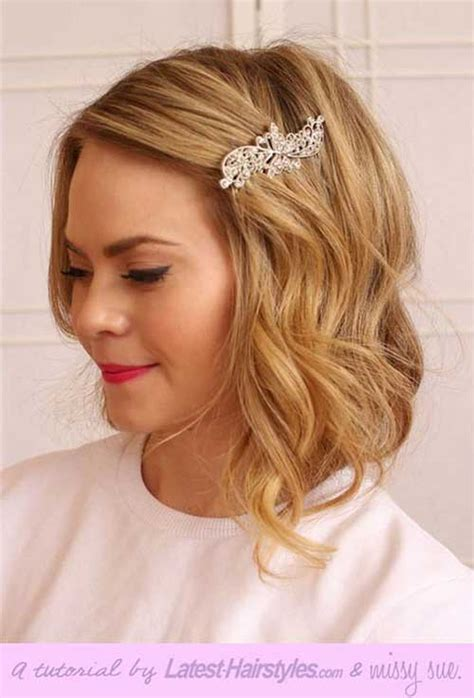 wedding styles  short hair hairstyles