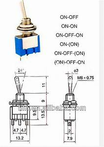 3 Position Toggle Switch Schematic  3 Pin Rocker Switch