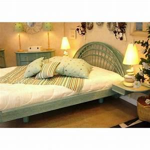 Tete De Lit Rotin : tete de lit rotin blanc maison design ~ Teatrodelosmanantiales.com Idées de Décoration