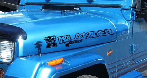 jeep islander decal supdec jeep