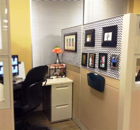 Ideas For Office At Work by How To Decorate Your Cubicle Chic Spaces Decor Ideas In