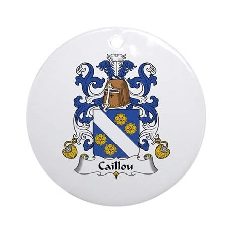 Caillou Ornament (round) By Ultraheraldry