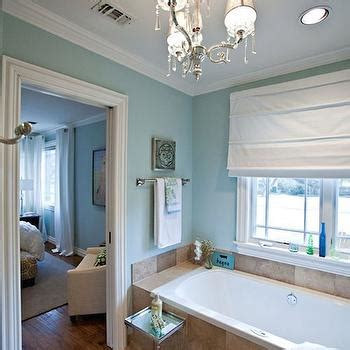 Spa Like Bathroom Paint Colors by Spa Blue Paint Color Transitional Bathroom Para