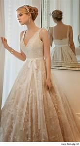 Robe De Mariée Champagne : 17 meilleures id es propos de robes de mariage champagne sur pinterest robes de mari es ~ Preciouscoupons.com Idées de Décoration