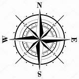 Compass Tattoo Template Rose Coloring Pages sketch template