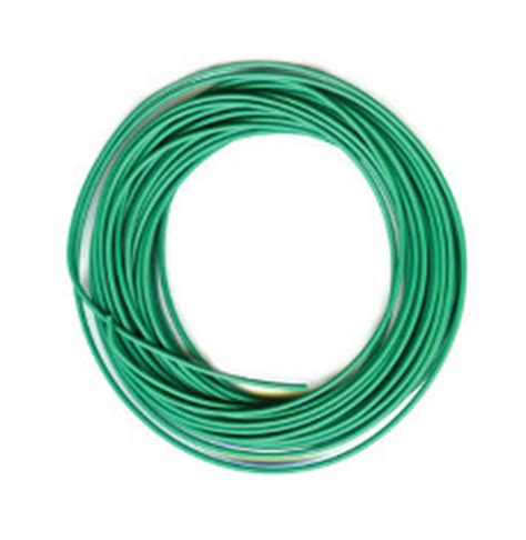 peco pl 38g electrical wire green 3 16 strand peco