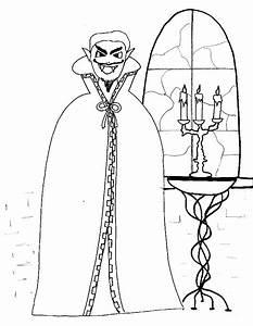 Dessin Halloween Vampire : dessin de vampire a colorier ~ Carolinahurricanesstore.com Idées de Décoration