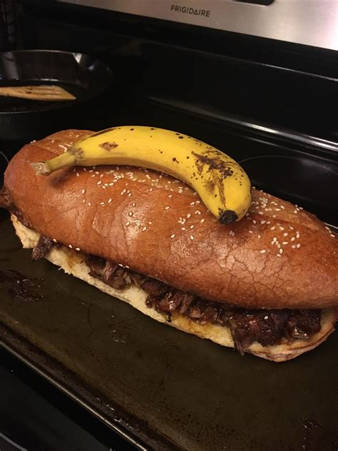 Peets has the worst customer service of any company i have ever done business with. Giant McRib to close out 2017 - banana for scale [640 x ...