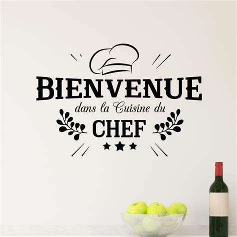 l amour dans la cuisine sticker bienvenue cuisine du chef stickers cuisine