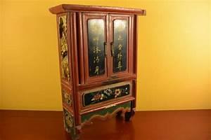 Petit Meuble En Bois : ancien petit meuble chinois en bois ~ Teatrodelosmanantiales.com Idées de Décoration