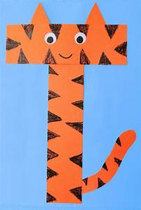 letter t crafts preschool and kindergarten With letter t artwork